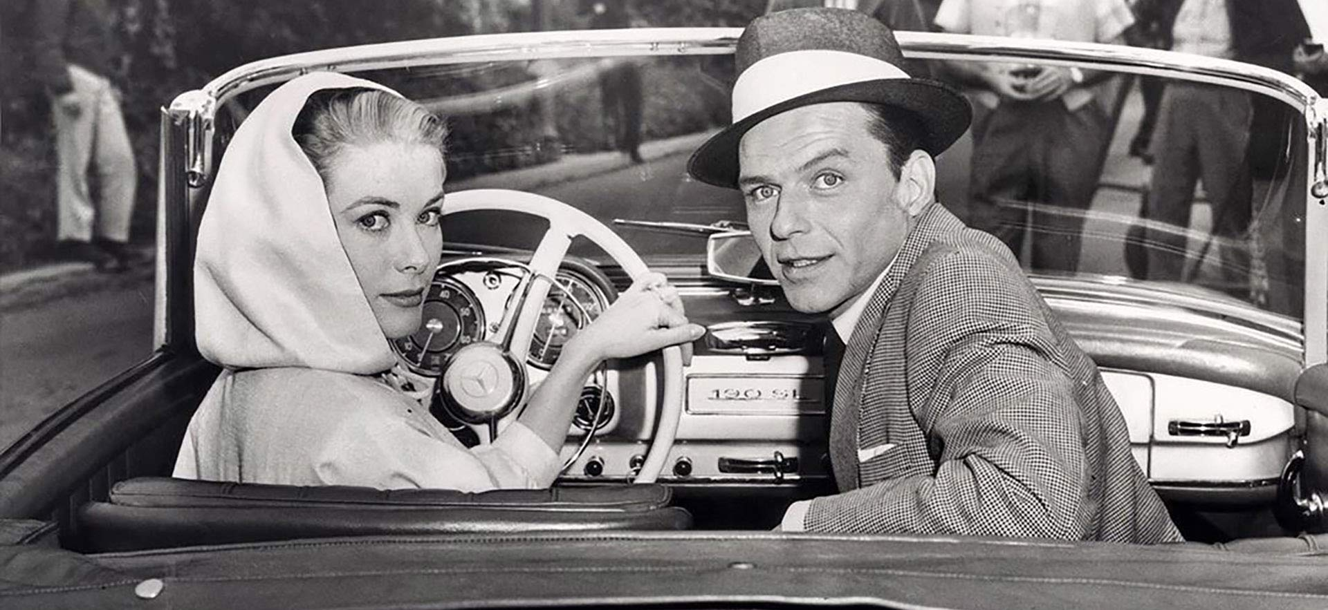 Classic Car experience Mercedes 190 SL Grace Kelly and Frank Sinatra